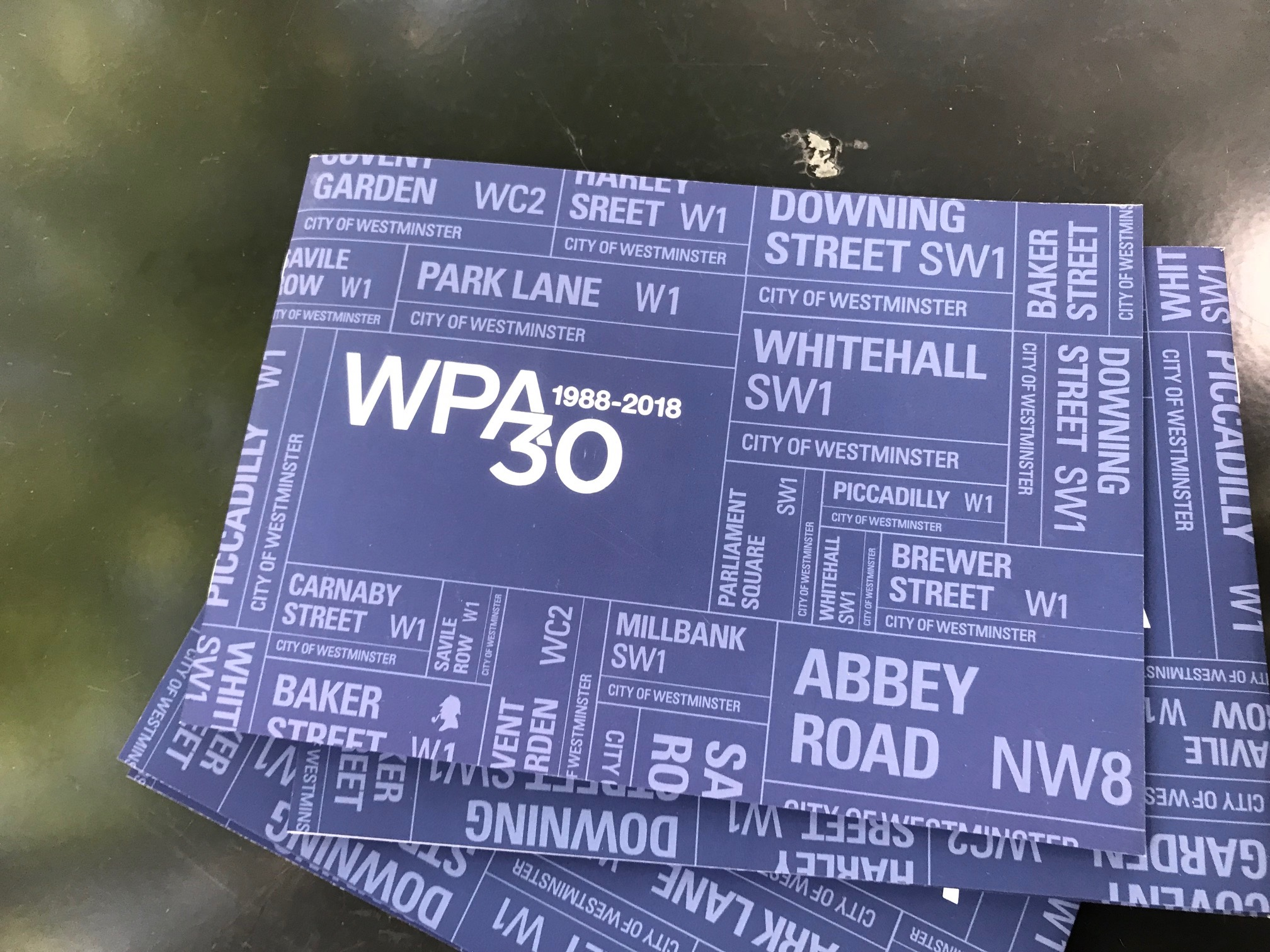 Westminster Property Association (WPA): 30th Anniversary