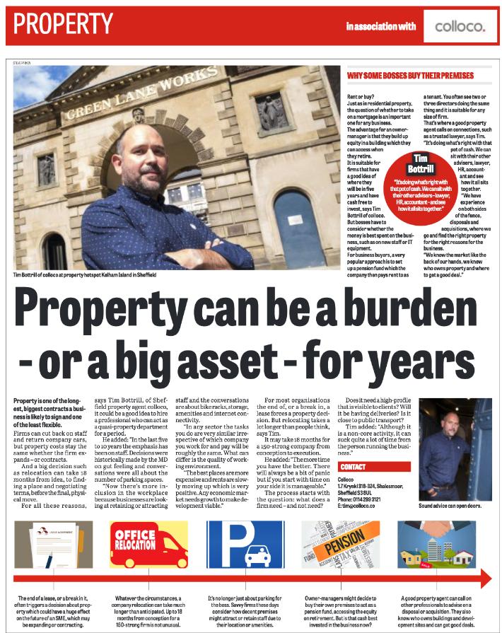 Commercial property: burden or asset?
