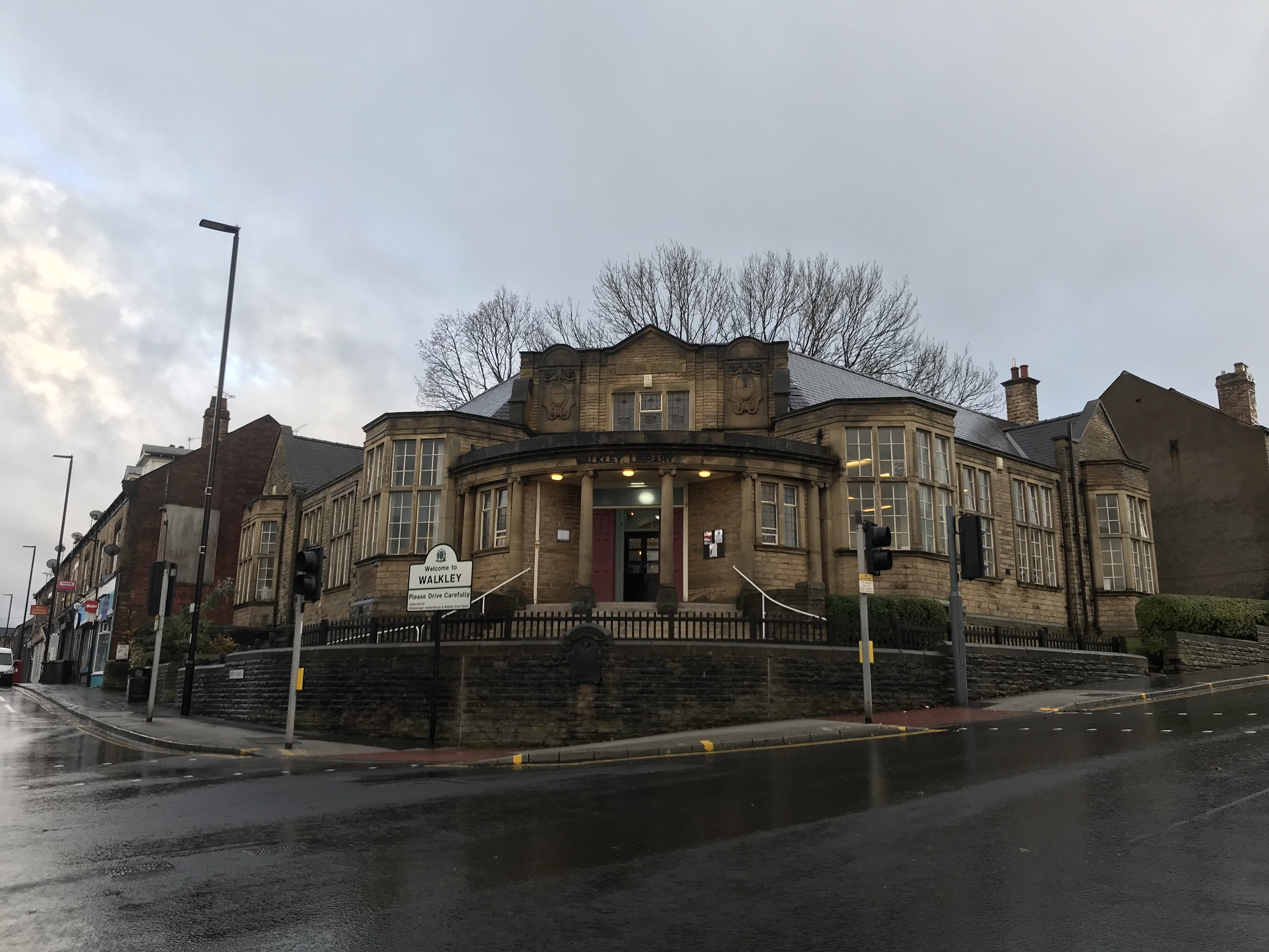 Walkley Community Library: commercial partner opportunity