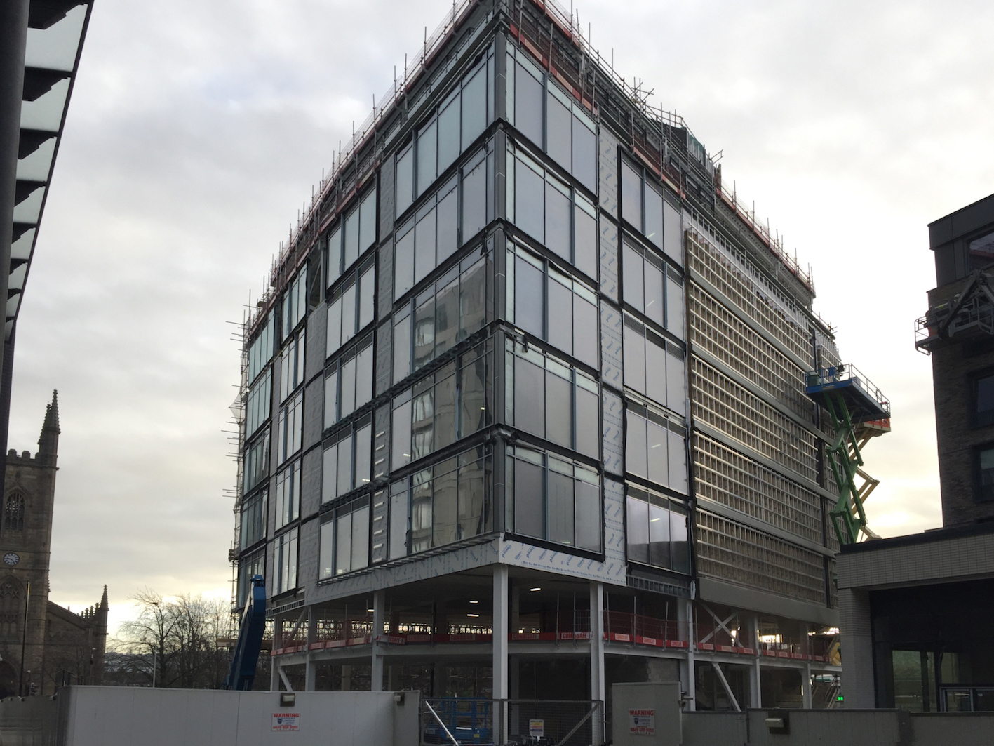 New Era: offices fast nearing completion